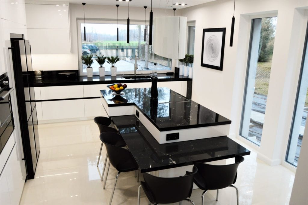 красивая удобная кухня