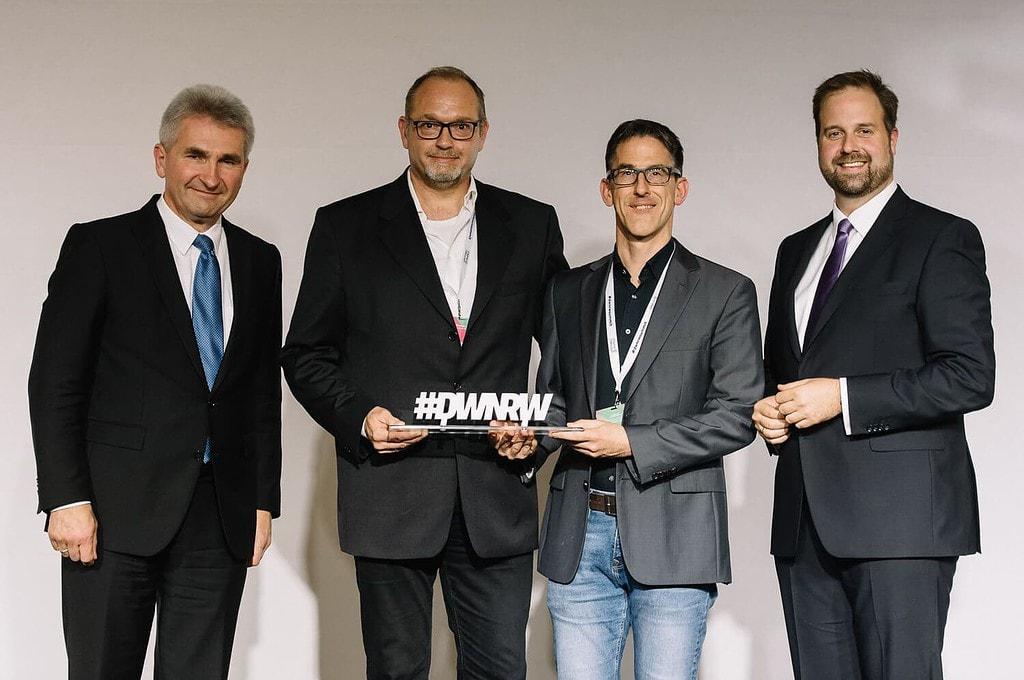 ObjectCode gewinnt den DWNRW Award 2018