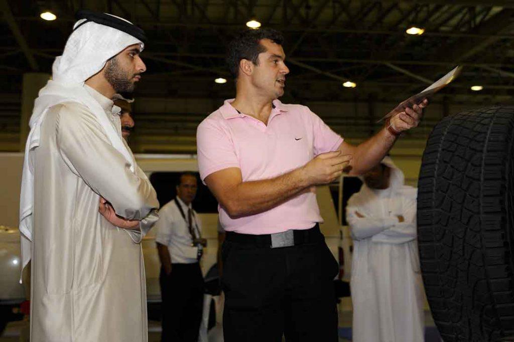 His Highness Sheikh Mansoor