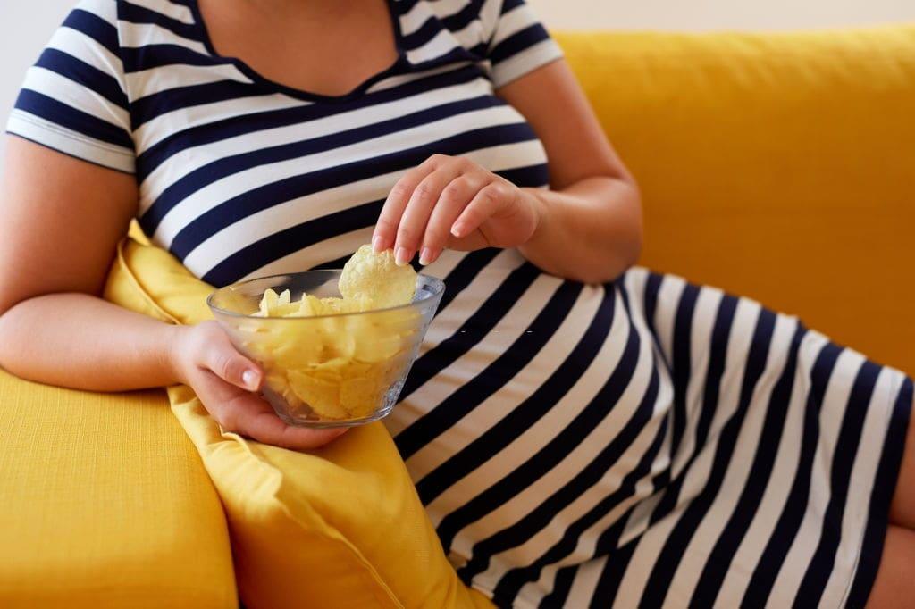 pregnancy cravings for salty food