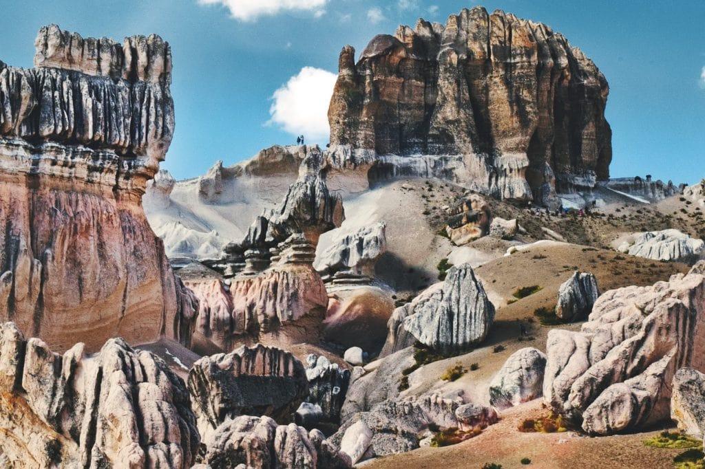 Bosques de Piedras Choqolaqa - Arequipa- Cinco destinos increíbles para luna de miel en el sur del Perú