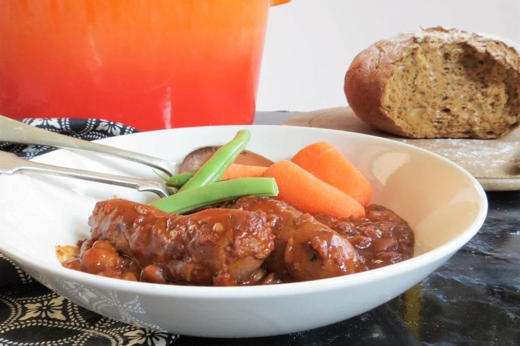 Gluten Free Sausage Casserole gluten free, one pot, comfort food