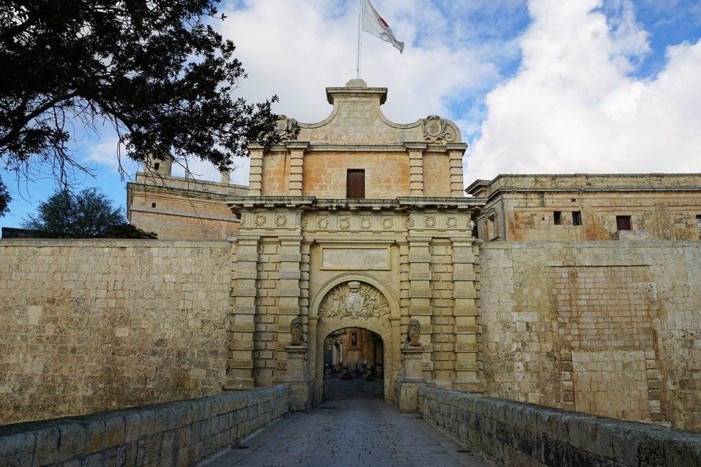 Stadtmauer Mdina, Malta