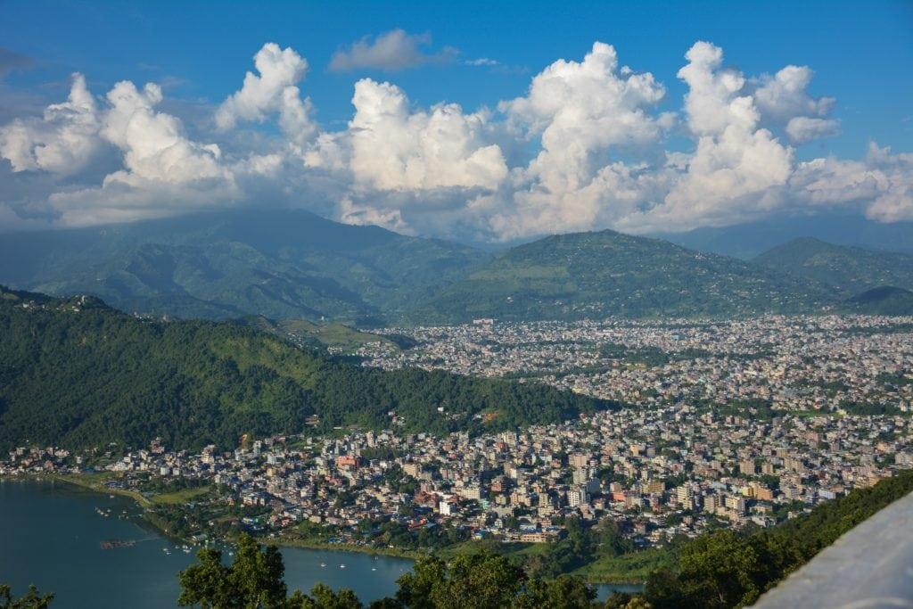 Pokhra valley in Kathmandu