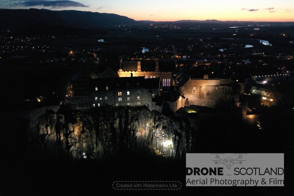 Stirling Castle from a Drone