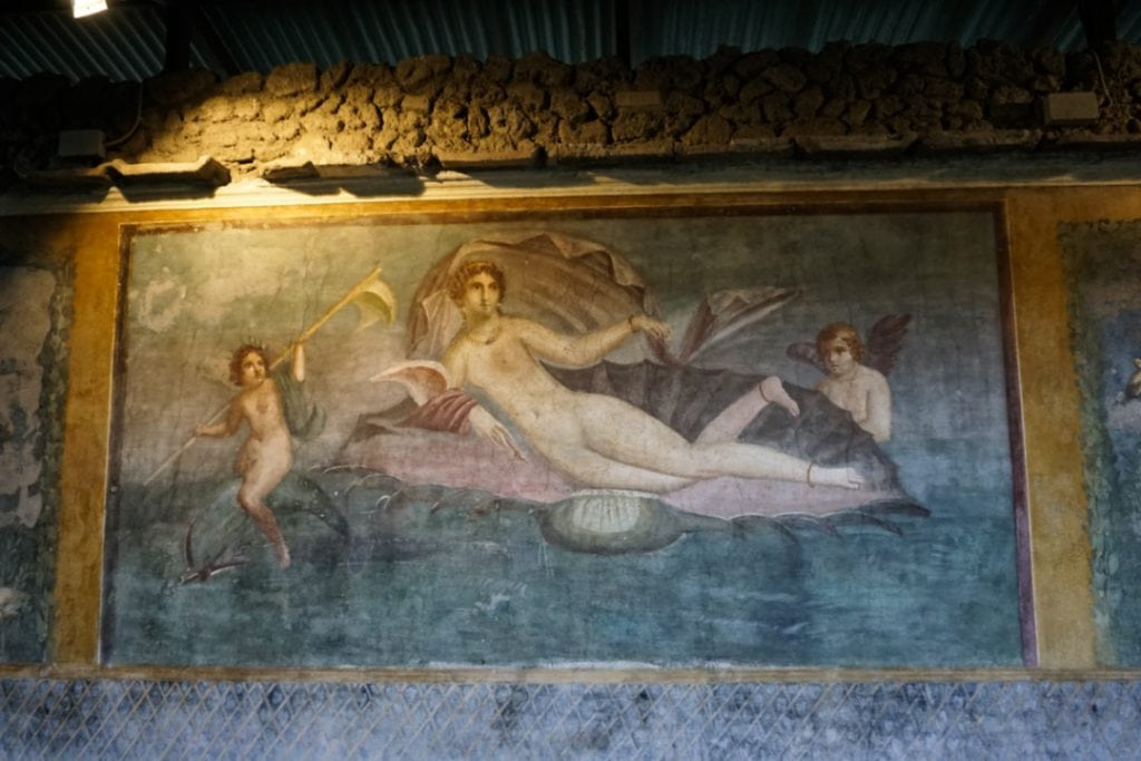 Venus in the Shell, Pompeii