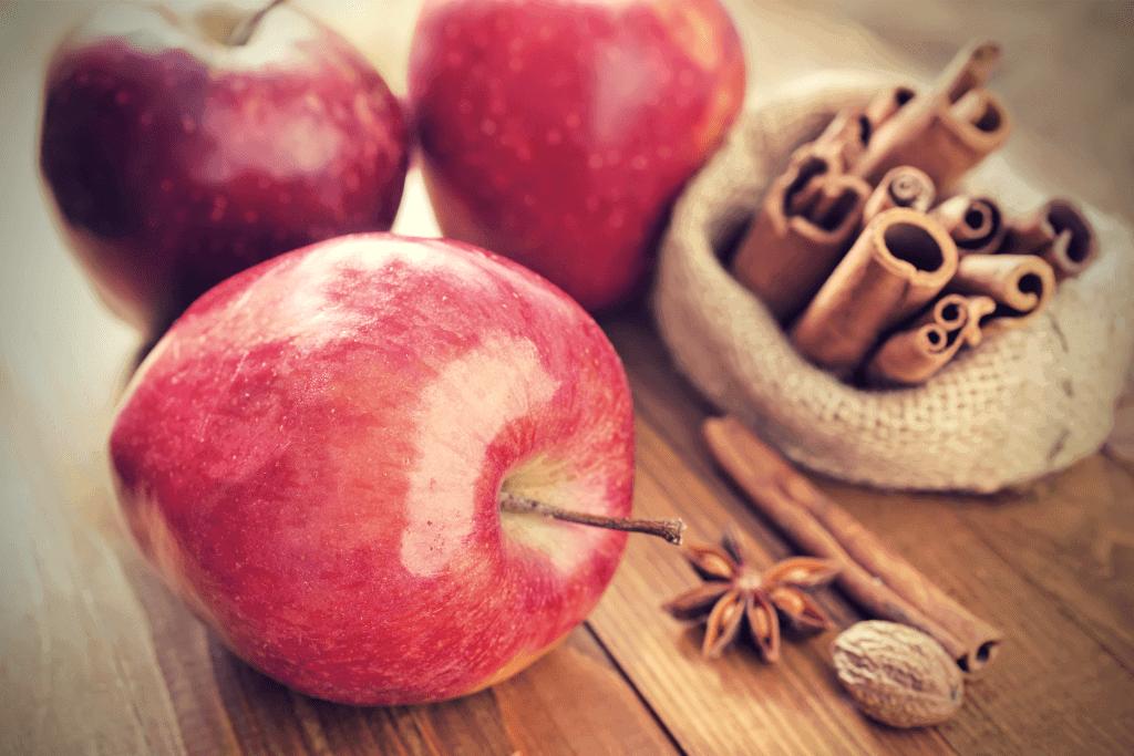 Fresh Cinnamon Apples