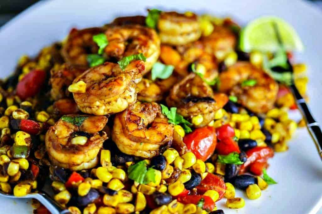 Southwest Shrimp and Succotash | Life, Love, and Good Food