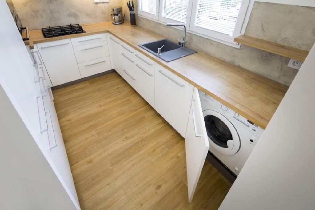 кухня 5 кв м стиральная машина