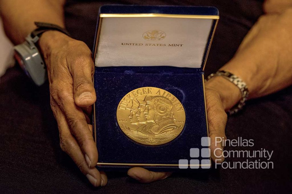 US Congressional Gold Medal awarded to the Tuskegee Airmen.