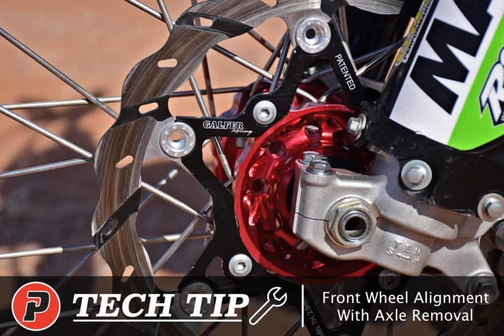 precision concepts front fork wheel alignment without removing axle