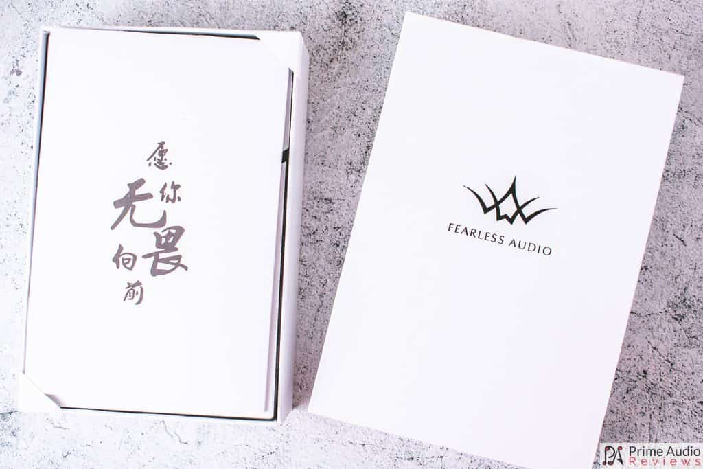 Fearless Crystal Pearl envelope with Chinese writing