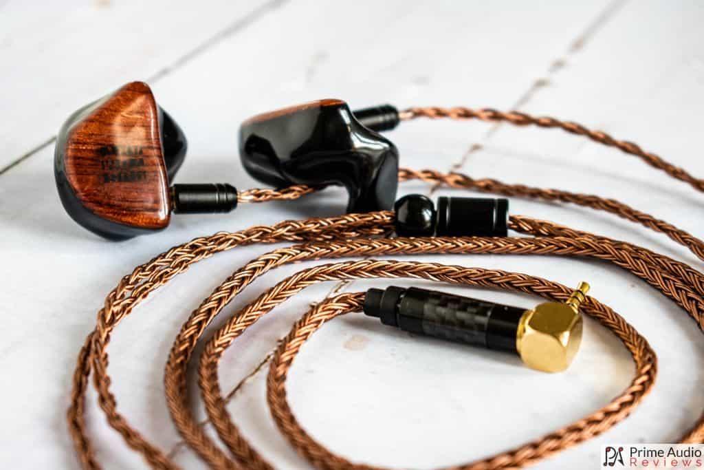 Yinyoo cable with Custom Art FIBAE Black