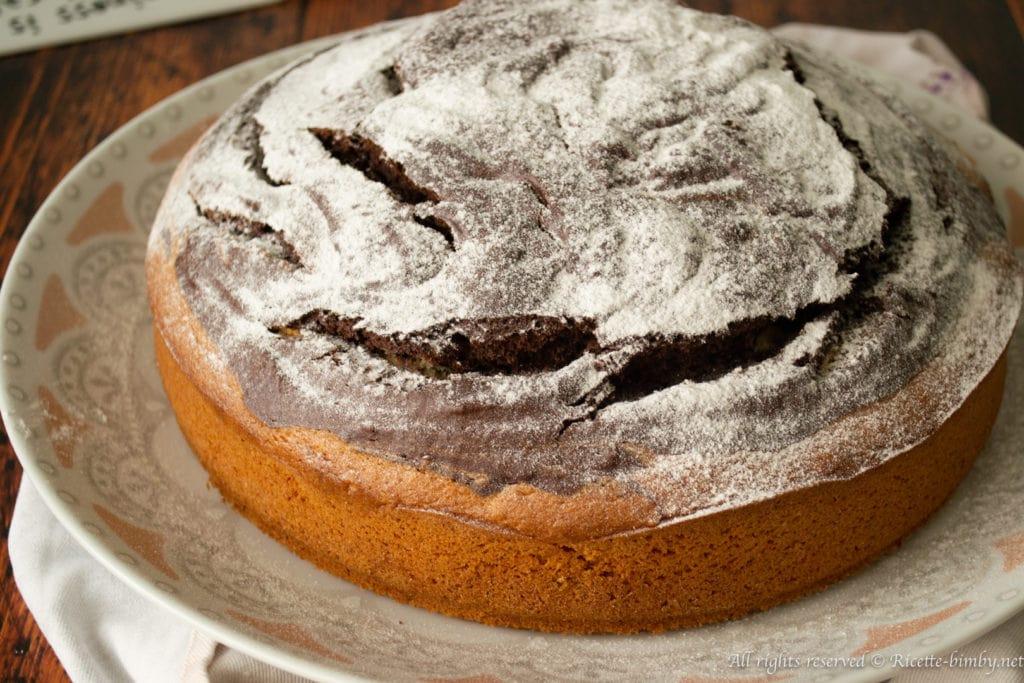 Torta di banane e cacao bimby