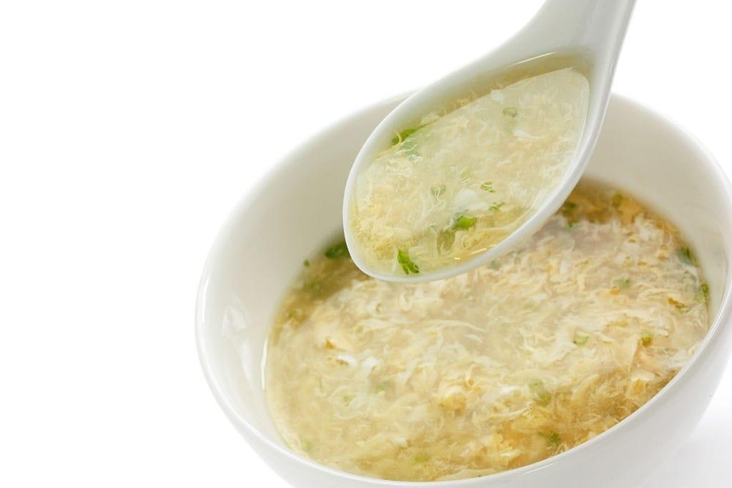 health benefits of egg drop soup