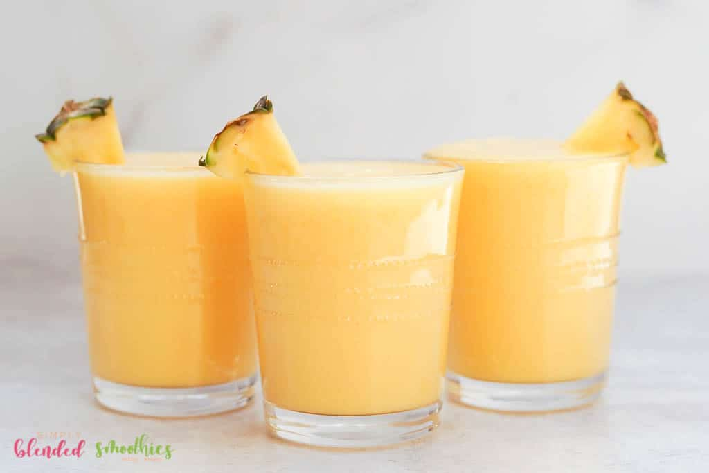Peach Pineapple Smoothie recipe