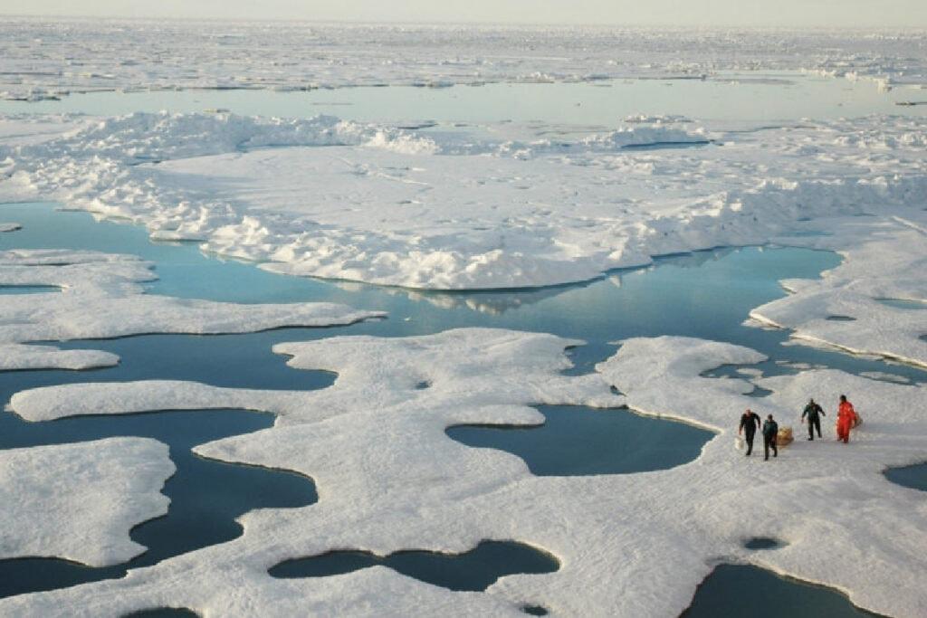 น้ำแข็งละลาย-ทะเล-อาร์กติก