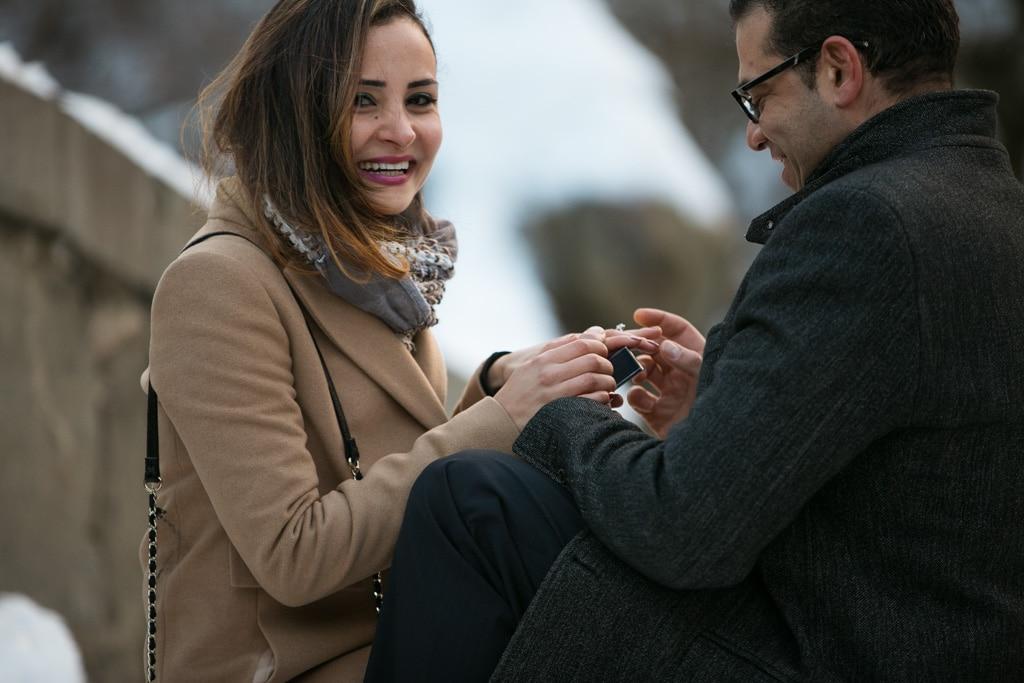 Photo 3 Valentine's Day Proposal at the Gapstow Bridge in Central Park | VladLeto