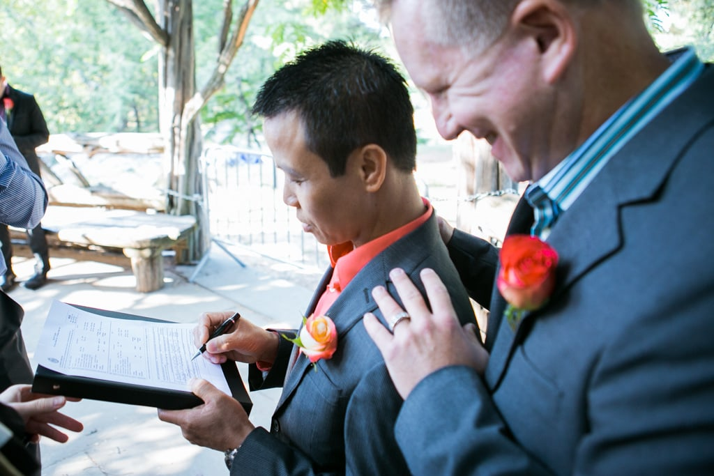 Photo 25 Wedding at Cop Cot in Central Park | VladLeto
