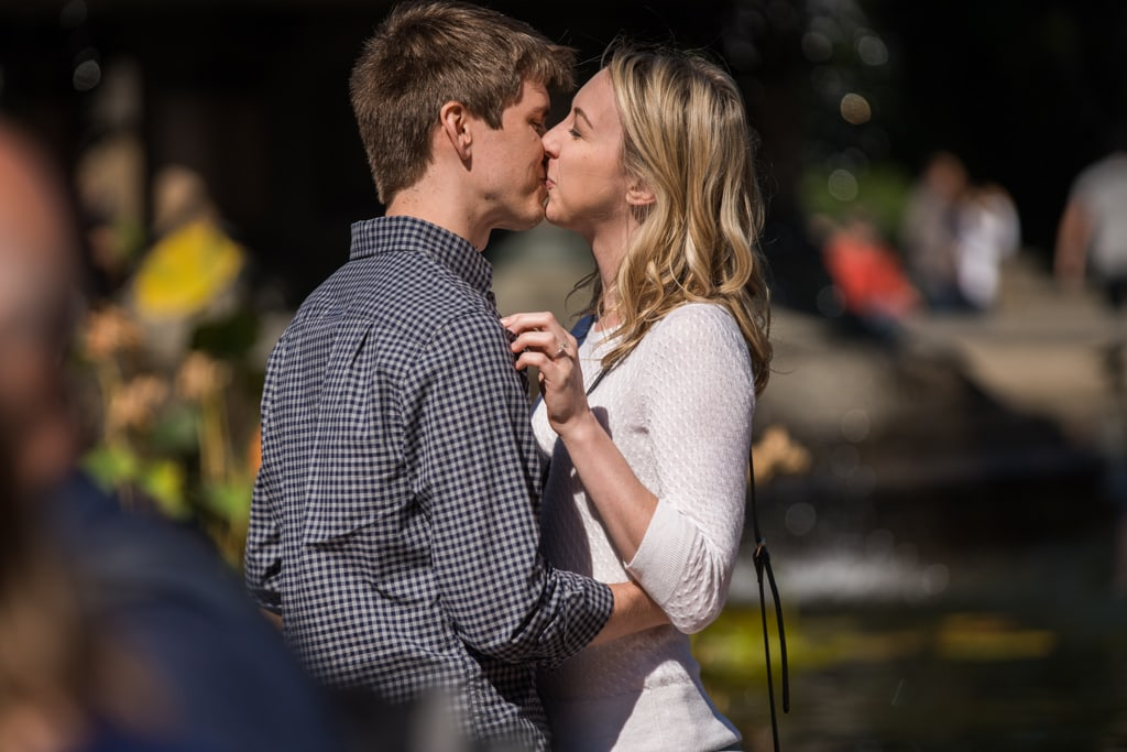 Photo 5 Central Park marriage proposal by Bethesda Fountain. | VladLeto