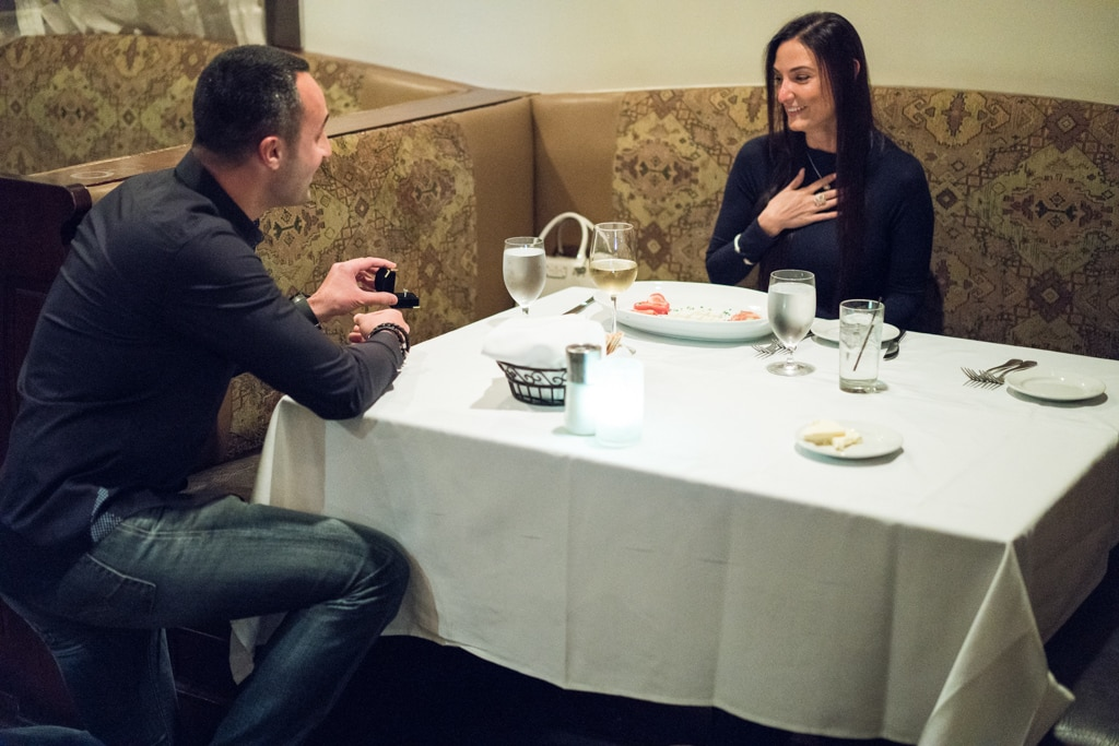 Photo Marriage proposal at Rothmann's Steakhouse in East Norwich, NY | VladLeto