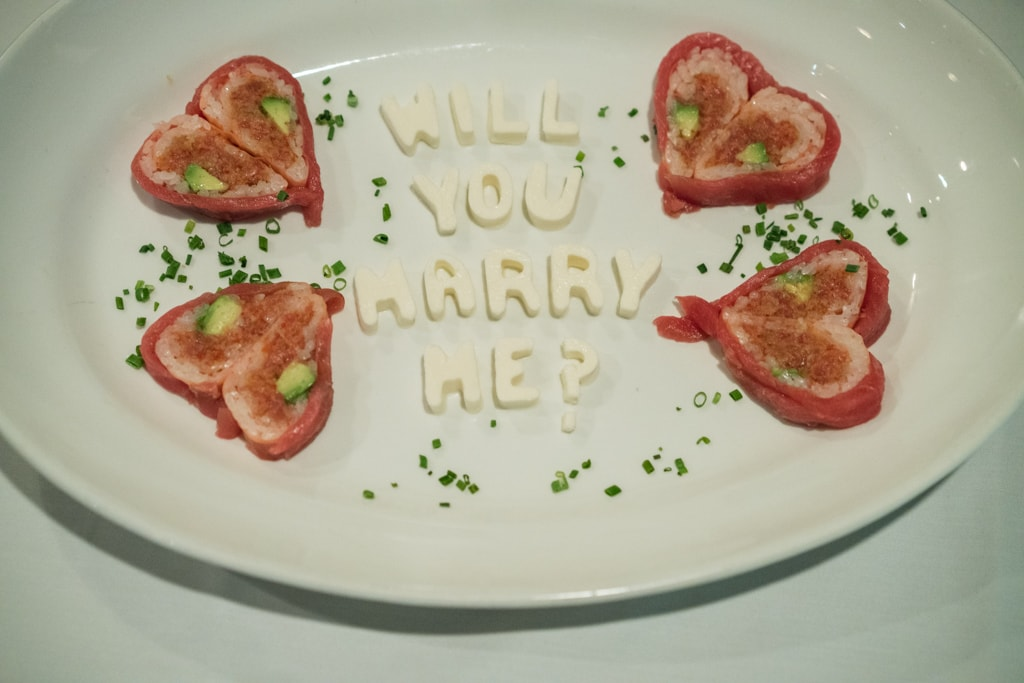 Photo 5 Marriage proposal at Rothmann's Steakhouse in East Norwich, NY | VladLeto