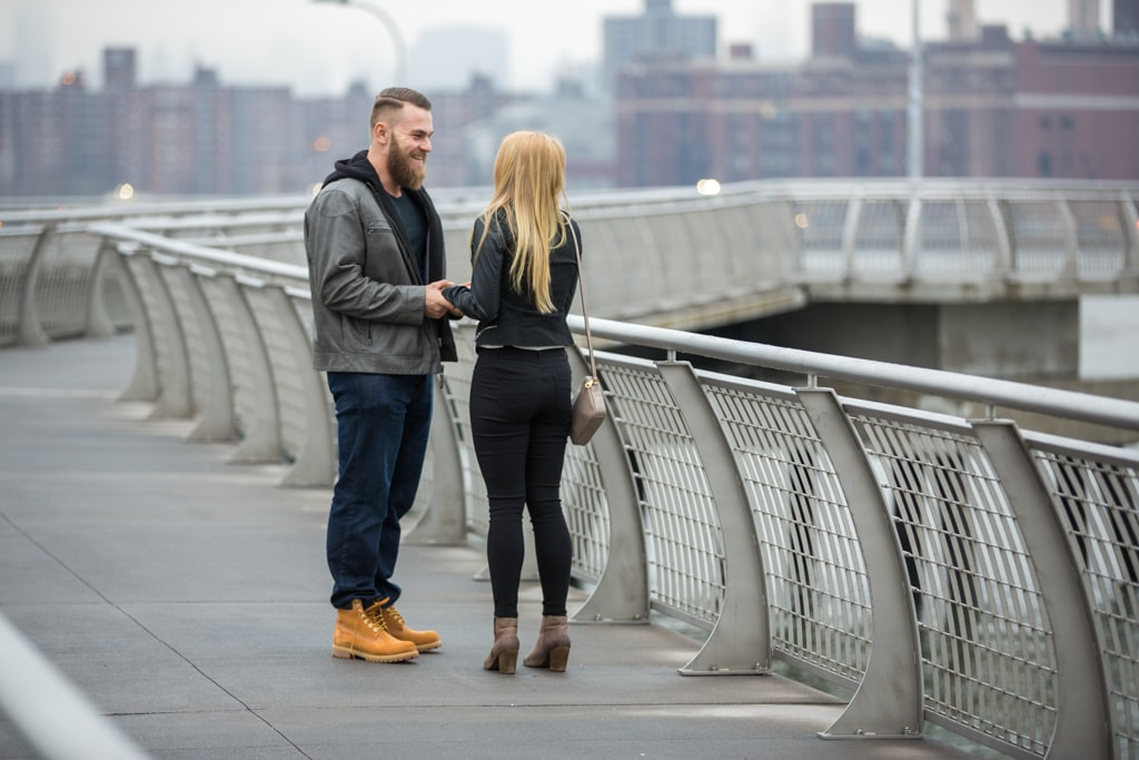 Photo 5 Greenpoint Brooklyn marriage proposal at secret spot. | VladLeto