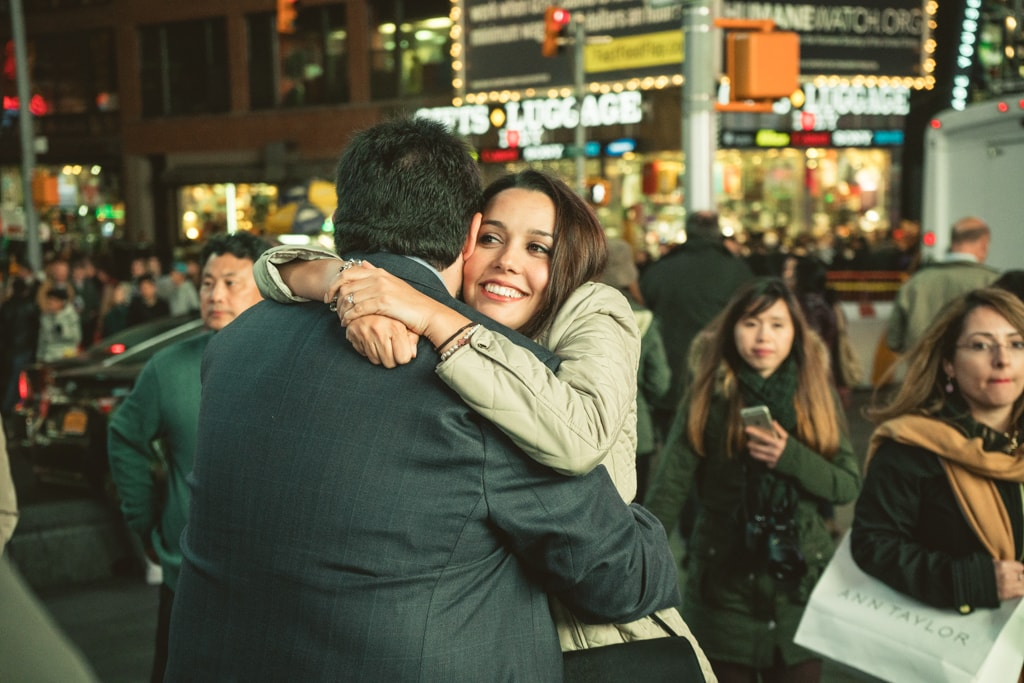 Photo 9 Times Square Marriage proposal New York City | VladLeto