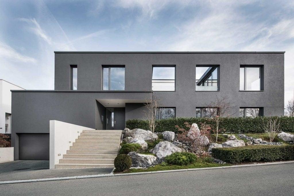 Front Wohnhaus H, Dettingen