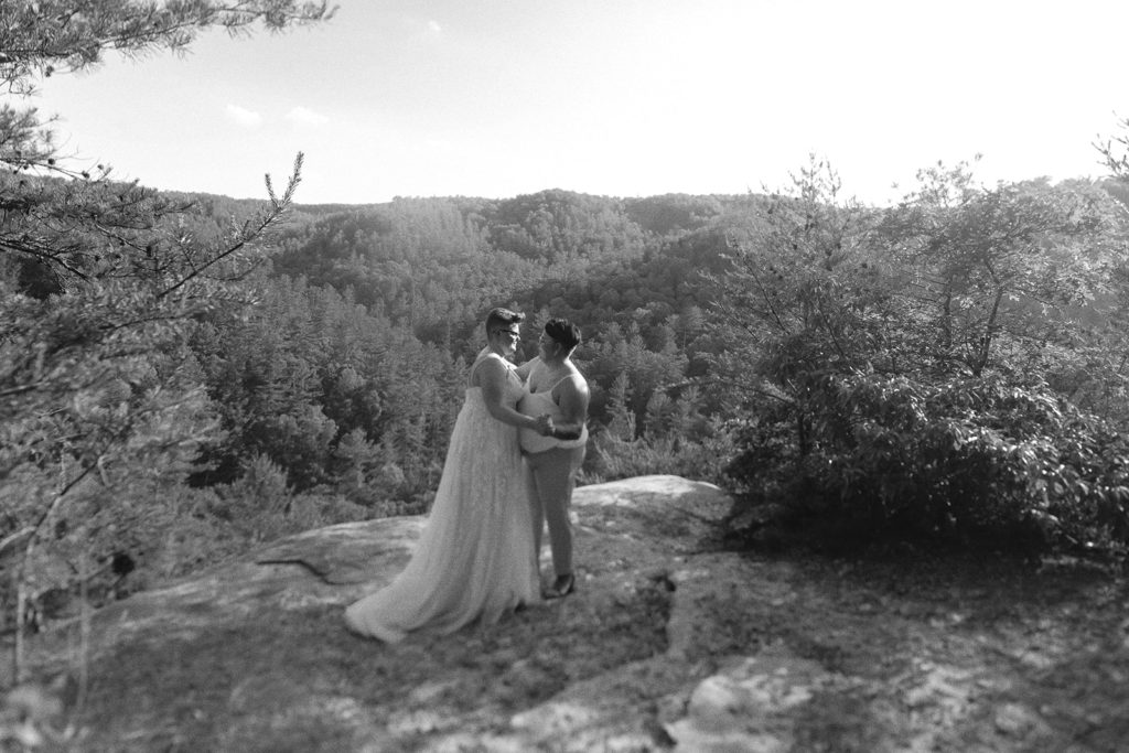 queer elopement red river gorge