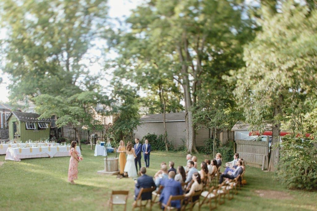midway ky backyard wedding ceremony