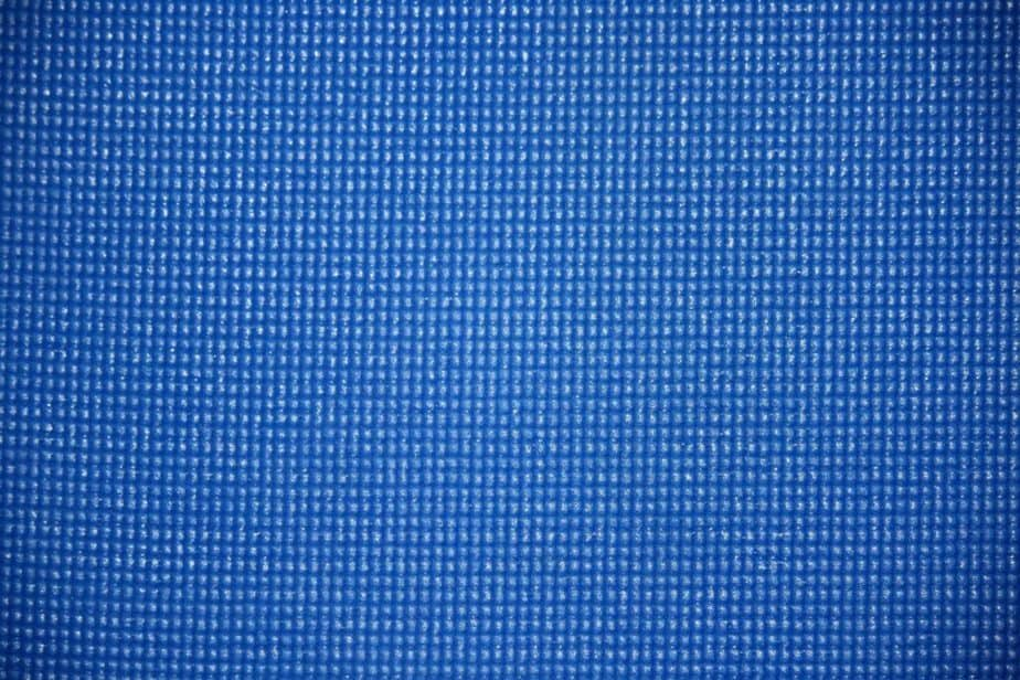 A texture of blue yoga mat
