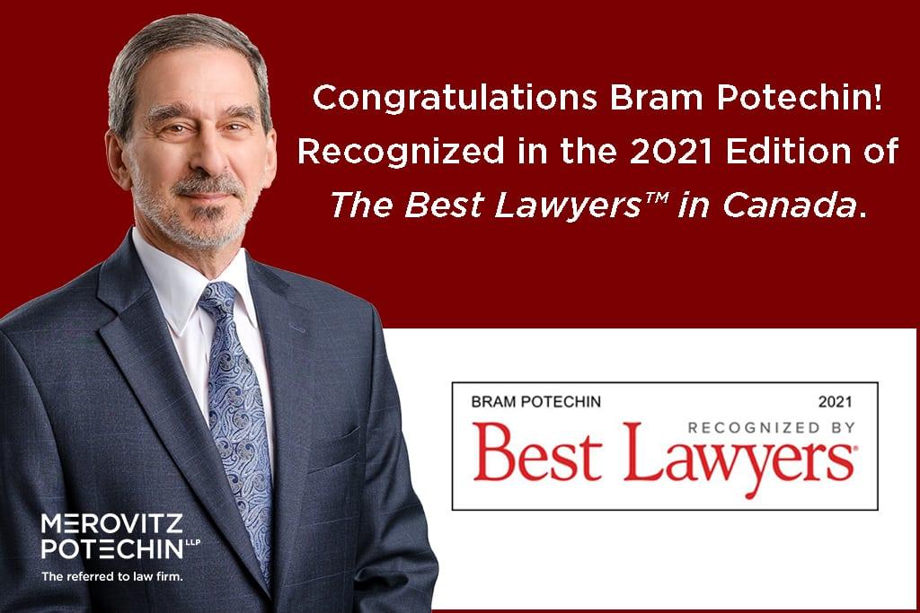 Bram Potechin in Best Lawyers