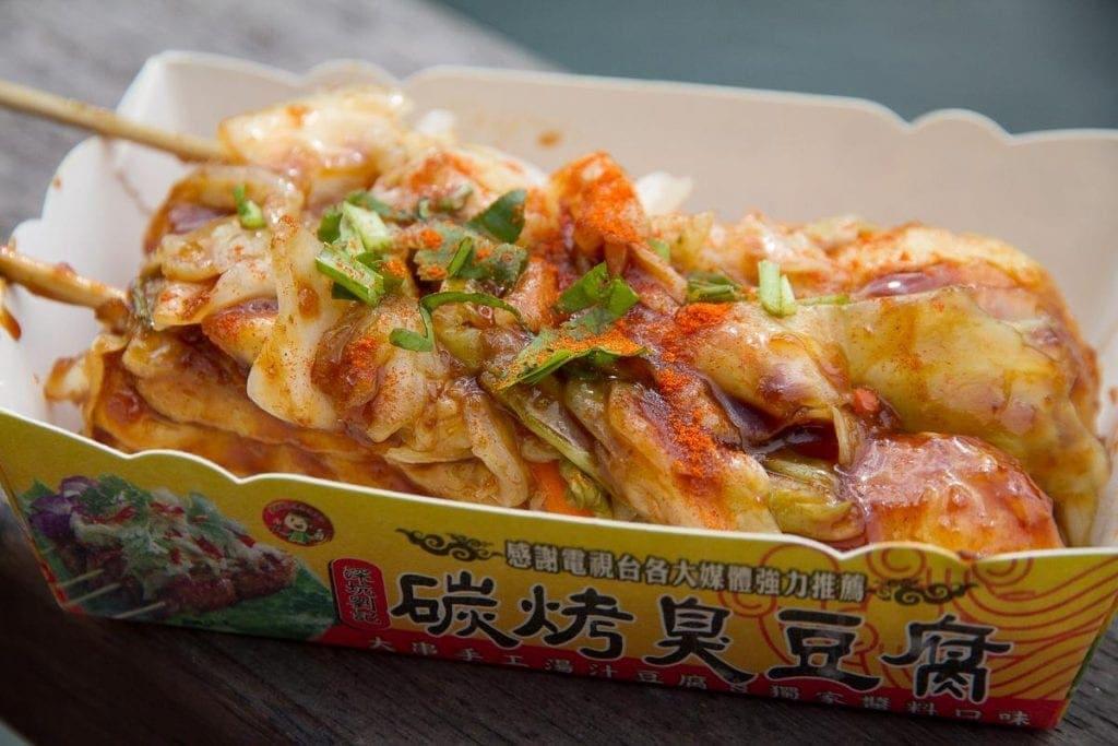 Stinky tofu, Taiwan