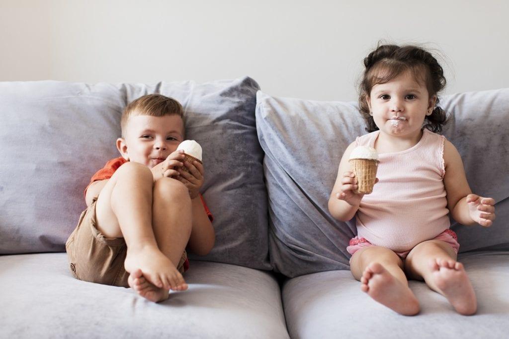 plamoodporne tkaniny dla dzieci