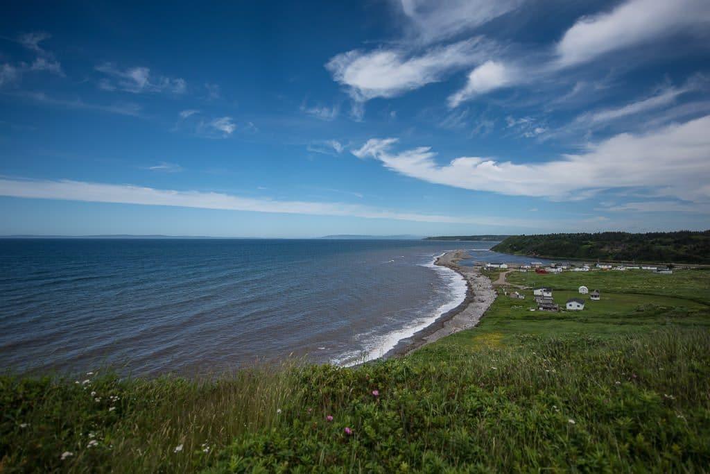 Atlantic coast on the hill near Pirate's Haven