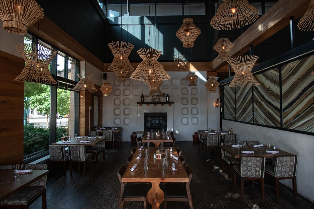 Inside of the restaurant at Kachina Southwestern Grill in Westminster, CO