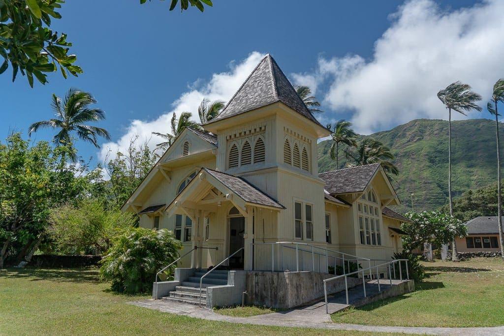 church in Kalaupapa Molokai