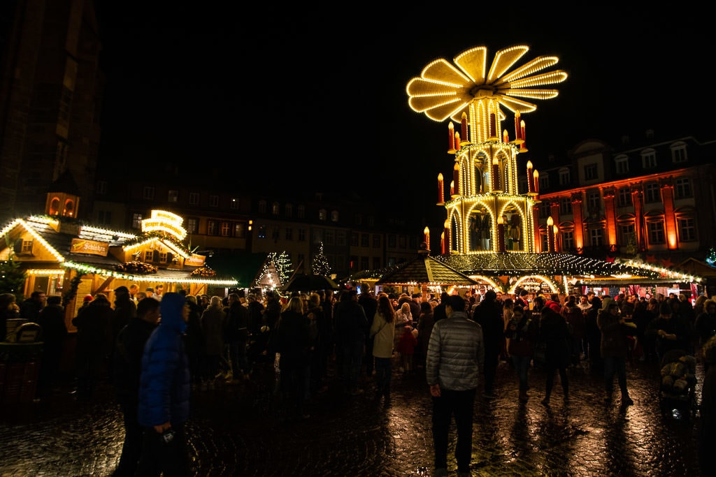 heidelberg christmas market in germany