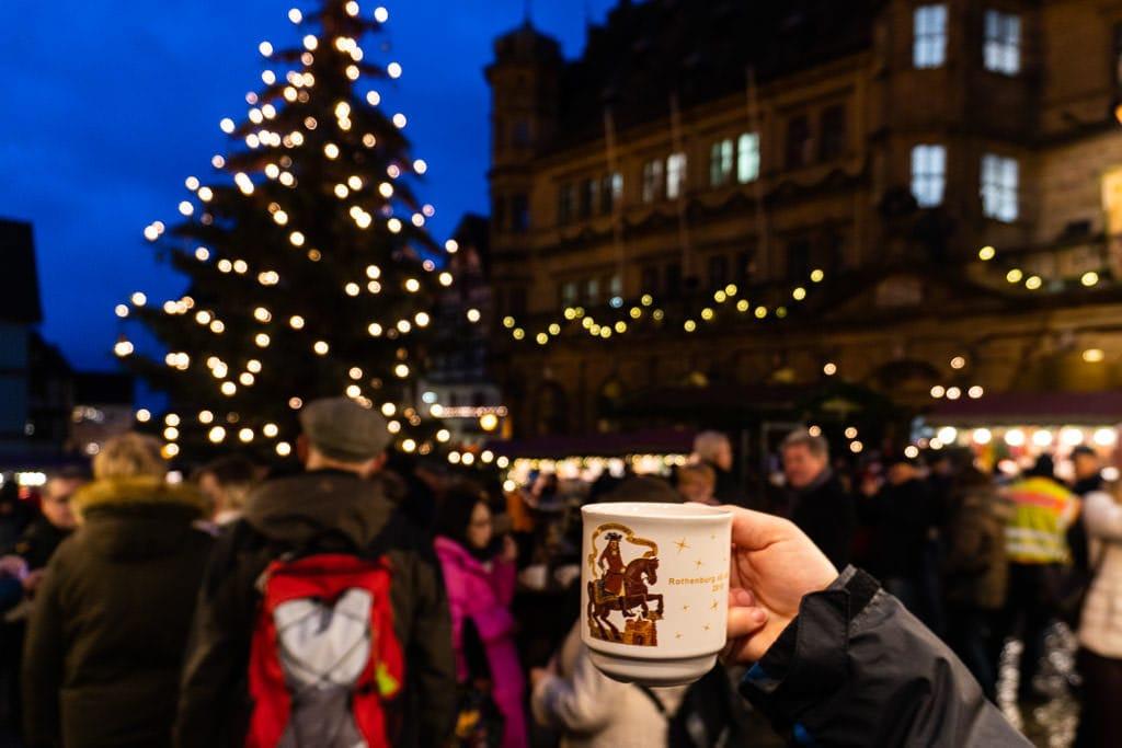 rothenburg christmas market mug