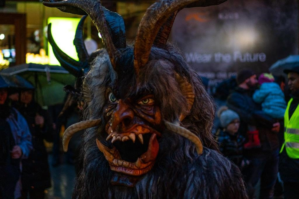 demon from munich krampus run