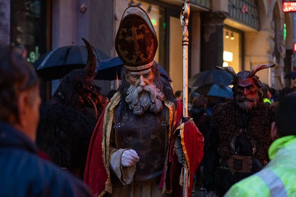 st. nick from munich krampus run