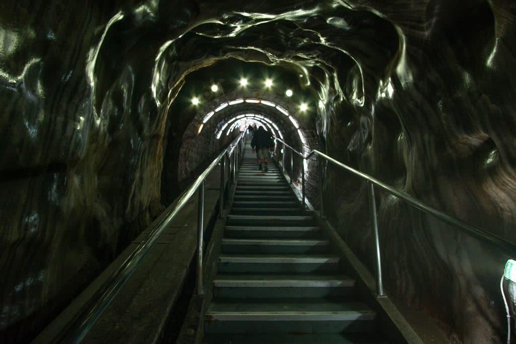 salina turda romania underground salt mine amusement park