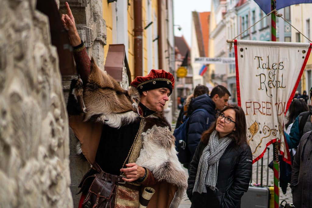 Free walking tour of Tallinn, Estonia with Tales of Reval