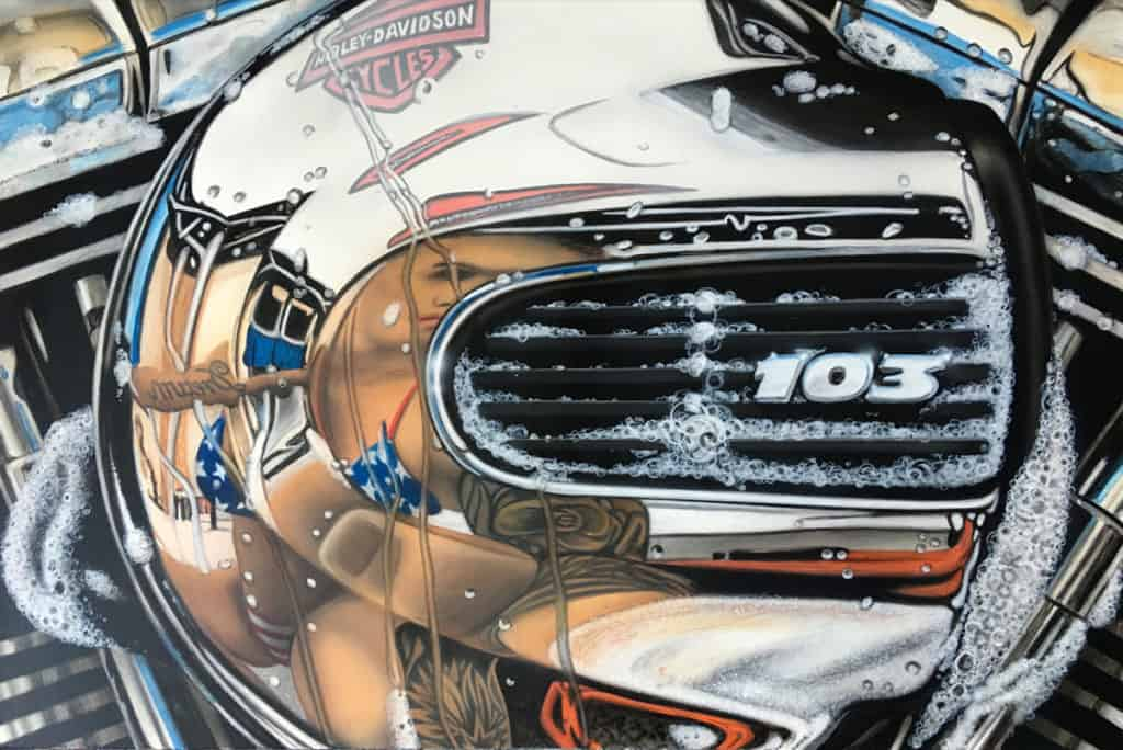 DREAM 103 by A.D. Cook, motorcycle artist