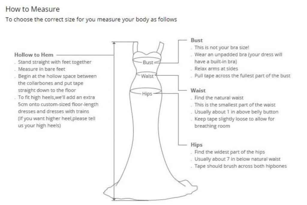 AliExpress Cheap Designer Wedding Dresses Bridal Gown Applique Dress 1 How to measure