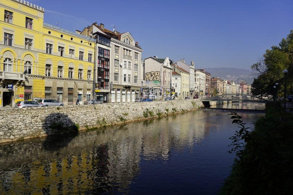Miljacka river, Sarajevo, Bosnia and Herzegovina - Experiencing the Globe
