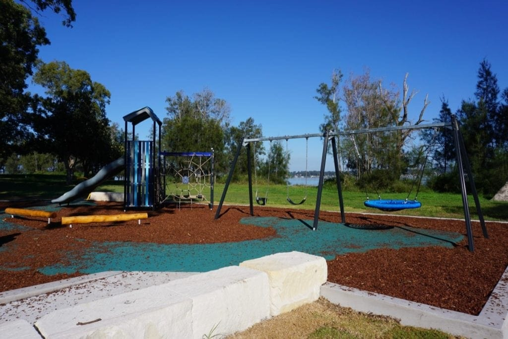 Lake Macquarie Playground Valentine