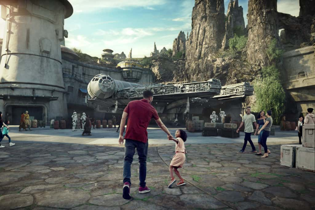 Are you ready for an out of this world experience? Star Wars: Galaxy's Edge is the name of the new Star Wars Land opening soon at Disneyland and Walt Disney World. I can't wait to experience everything in Star Wars Land. How about you? Galaxy's Edge is set to open on May 31, 2019 at Disneyland and on August 29, 2019 at Walt Disney World. #StarWars #StarWarsLand #GalaxysEdge #DisneyTips #Disneyworld #Disneyland #WaltDisneyWorld