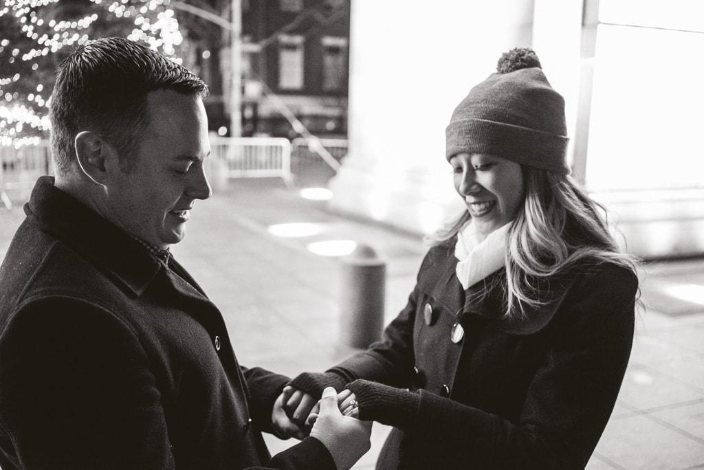 Photo 9 Washington Square Marriage proposal New York City | VladLeto